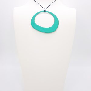 Buy Turquoise copper Enamel pendant