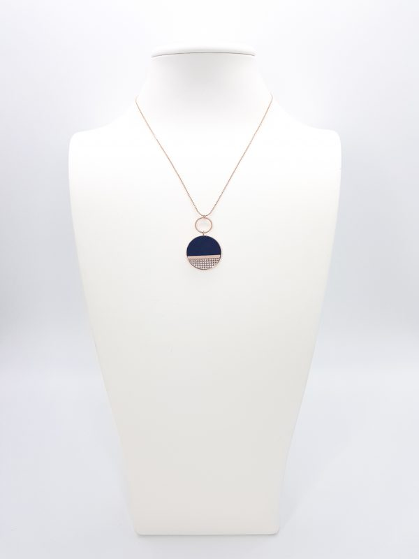 Collartz presents the Mila Blue Necklace,
