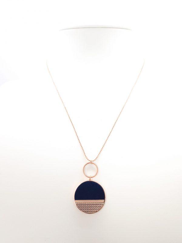 Collartz presents the Mila Blue Minimal Chain.