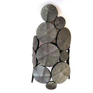 Collartz presenta la Pulsera de Piel Verde Satinado: Gotas del Cielo de Rodas.