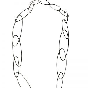 Collartz Long Oxidized Necklace 4