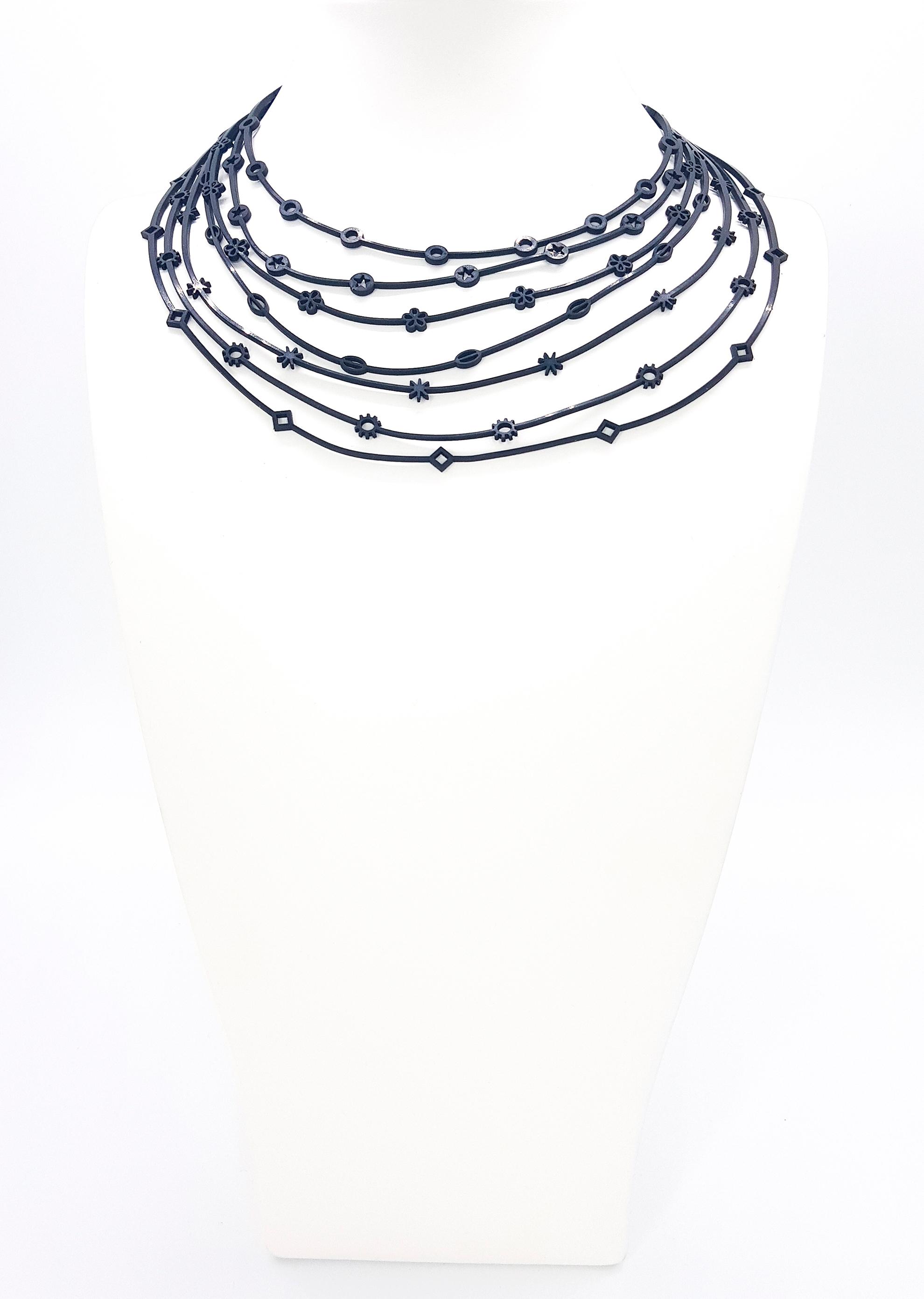 Collartz presenta los Collares de Caucho Brasileño Reciclado de TUN.