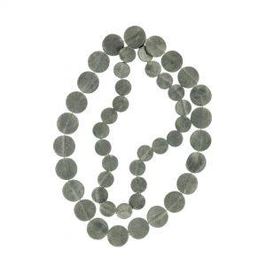 Collartz presenta el Collar de Piel Gris Gotas de Nácar, Corto 2