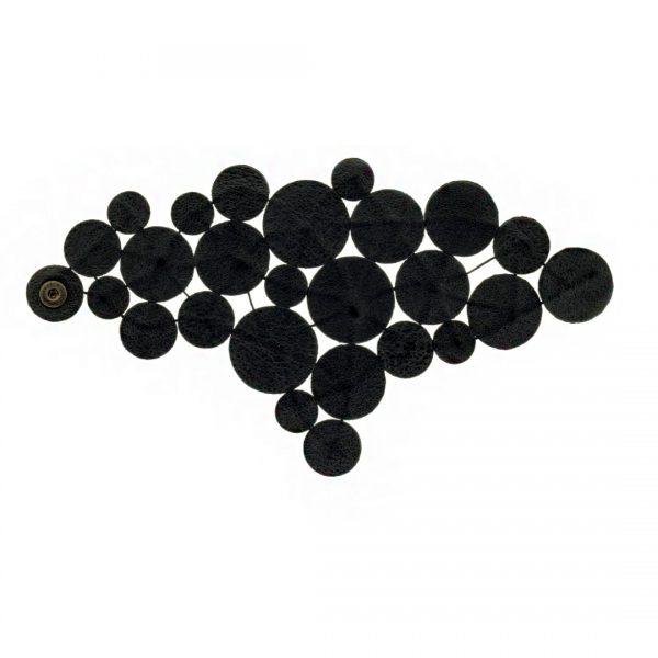 Collartz presenta laPulsera de Piel Negra: Gotas del Cielo de Rodas, 4