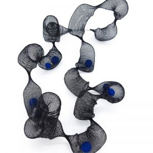 Collartz Blue Net Necklace 1