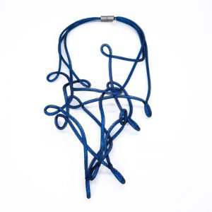 Electric Blue Necklace Virgola 2