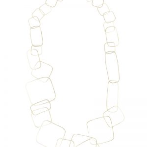 Collartz presents the Tosca Long Silver Plated Necklace 2