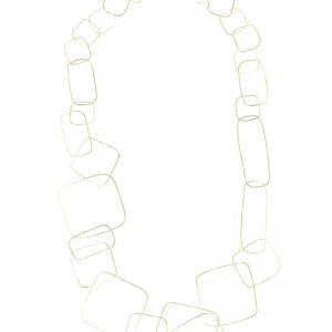 Collartz presenta el Collar Largo Tosca Plateado 3