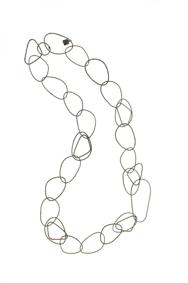 Collartz presents the Long Free Oxidized Necklace 4