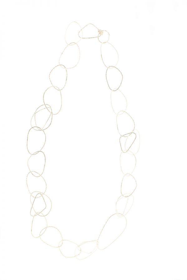 Collartz presents the Long Free Silver Plated Necklace 3