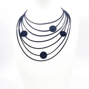 Rubber-Necklace-Pina's-Dots