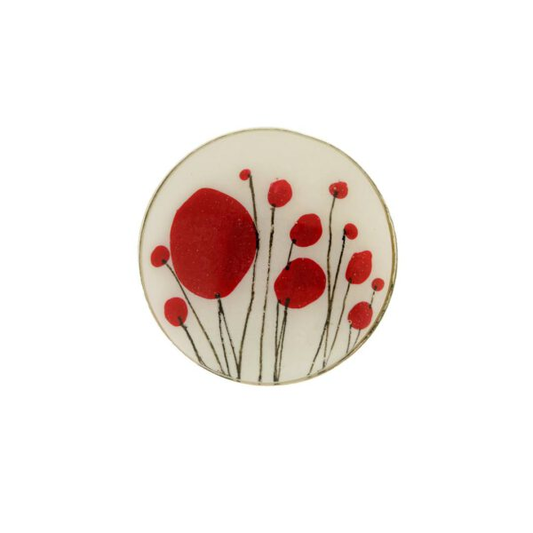 Red Poppies Ring 3