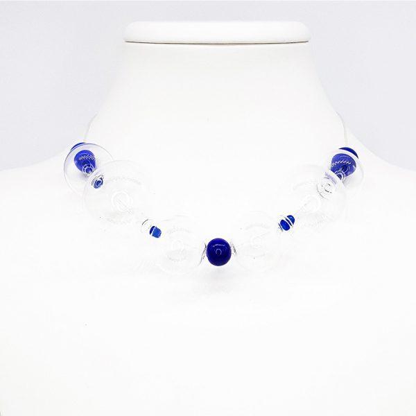 Collar de Cristal de Murano: Soffio di Vento Sardegna 2