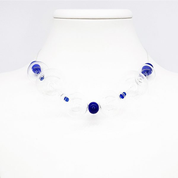 Collartz Murano Glass Necklace Soffio di Vento Sardegna 1