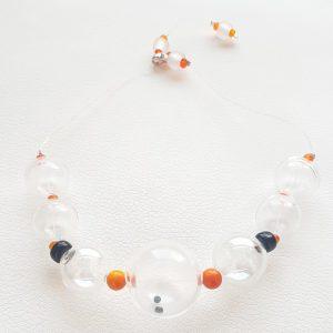 Collar de Cristal de Murano Soffio di Vento Costa Rei 1
