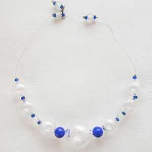 Collartz Murano Glass Necklace Soffio di Vento Sardegna