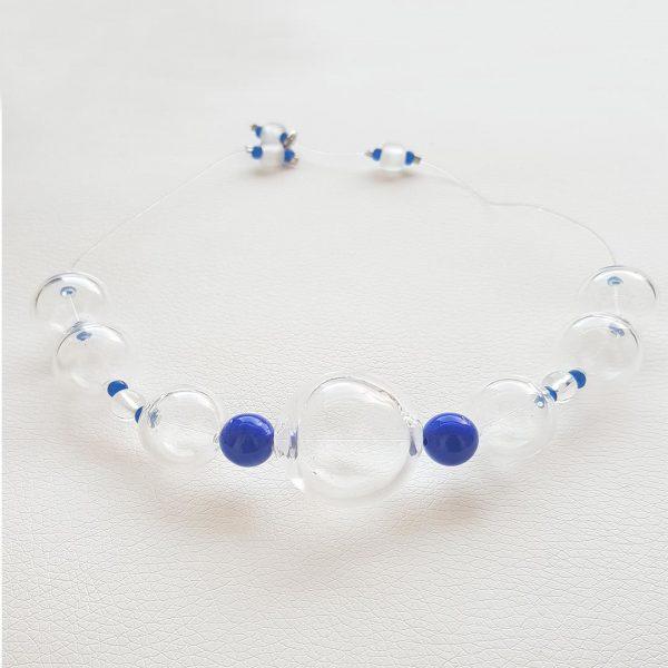 Collar de Cristal de Murano: Soffio di Vento Sardegna 3