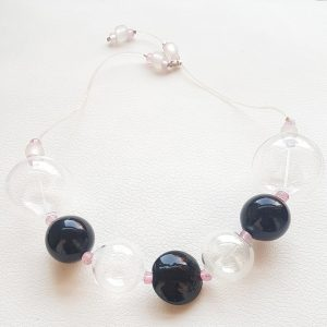 Collartz-Collar de Cristal de Murano Soffio-di-Vento-Tavolara 2