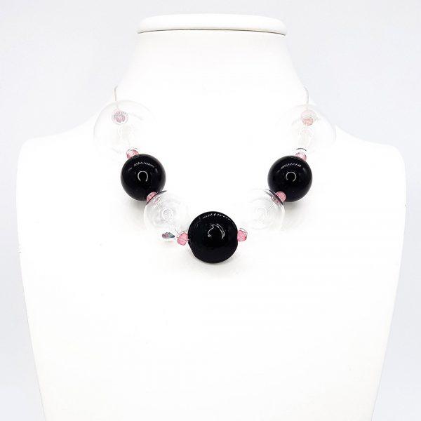 Collartz-Collar de Cristal de Murano Soffio-di-Vento-Tavolara 1