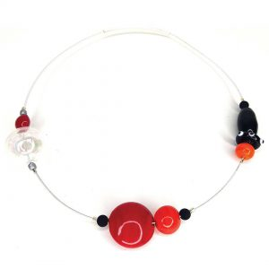 Murano Glass Chokers: Murano's Essence Sakura