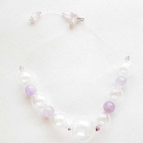 Murano-Glass-Necklaces--Breath-of-Wind-Asinara Murano-Glass-Necklaces--Breath-of-Wind-Asinara