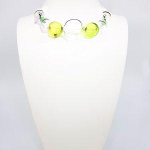 Collartz presenta la Colección de Collares de Cristal de Murano Soplado, Soffio di Vento, made by Lidia Pitzalis.