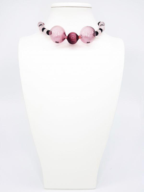 Collartz presenta la Colección de Collares de Cristal de Murano Soplado, Soffio di Vento, made by Lidia Pitzalis. Este es tu Collartz Sinis.