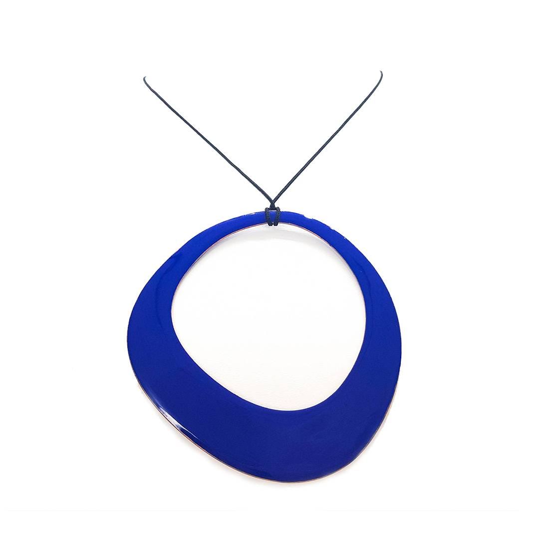 Colgante Donut-Azul-6