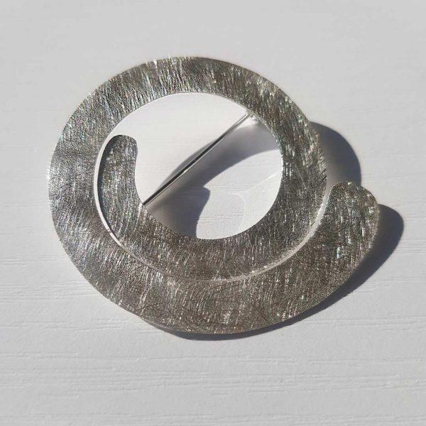 Mexican Silver Brooch Collartz 1