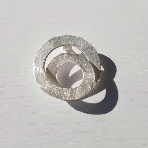Colgante de Plata Mejicana Collartz Espiral 1