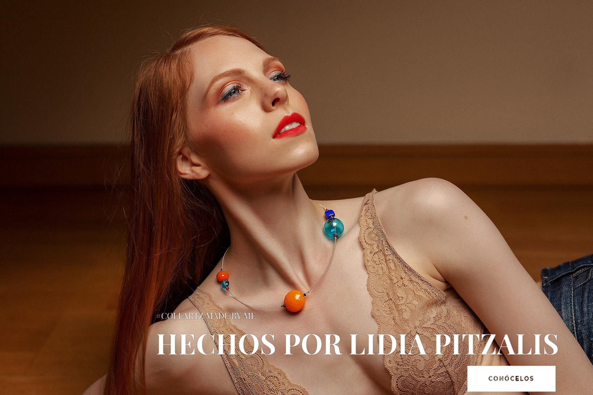 Collartz Hechos por Lidia Pitzalis