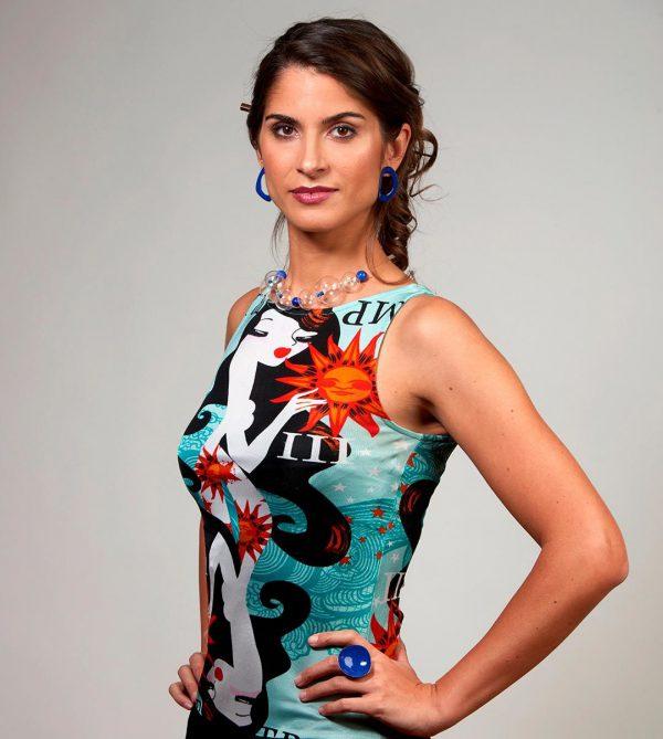 Collartz-Valentina-Lagana-Pendientes-Aro-Azul 1