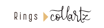 Collartz Fashion Silver Rings Logo