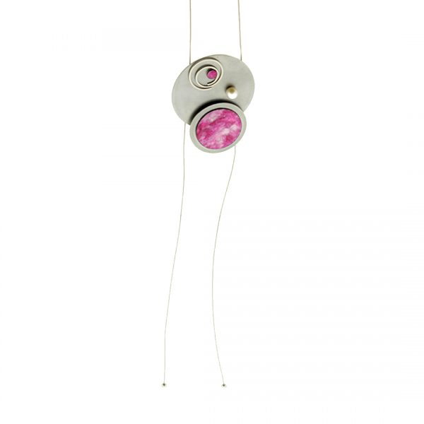 Collartz Collar Largo de Metal Flamingo 1