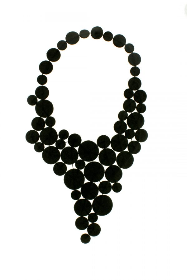Collartz Black Leather Necklace My Ardesia Drops 2