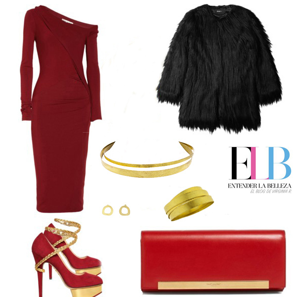 Regala Joyas sostenibles Collartz 2 Vestido Rojo Lady Like