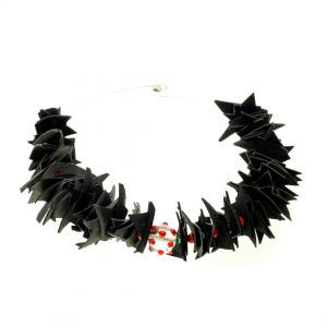 Collartz Recycled Rubber Necklace Colibri 1