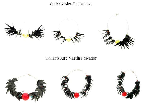 Colección de Collares Sostenibles Collartz Aire by Lidia Pitzalis 4