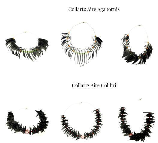 Colección de Collares Sostenibles Collartz Aire by Lidia Pitzalis 2