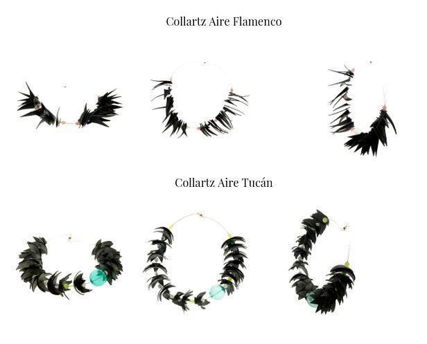 Colección de Collares Sostenibles Collartz Aire by Lidia Pitzalis 3
