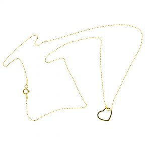 Collartz minimal Golden Silver Chain Love 4