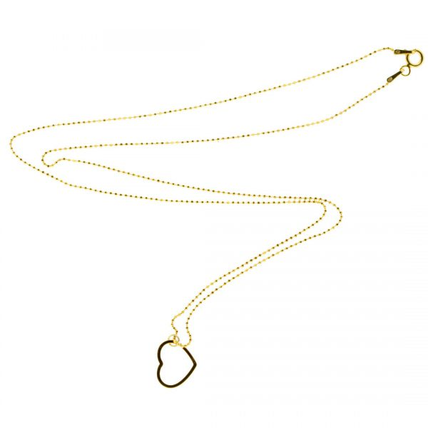 Collartz minimal Golden Silver Chain Love 2