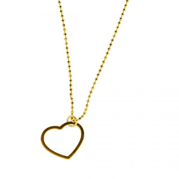 Collartz minimal Golden Silver Chain Love 1