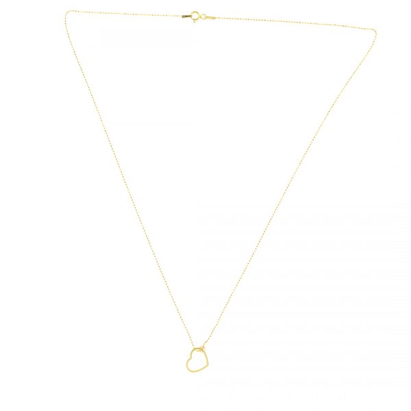 Collartz minimal Golden Silver Chain Love 3
