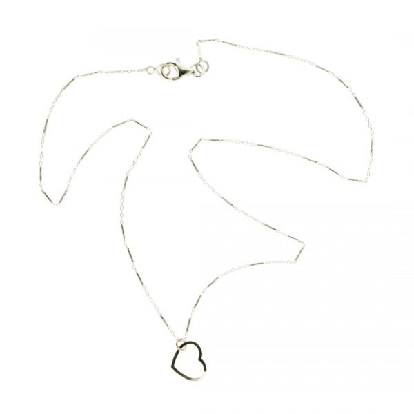 Collartz minimal Silver Chain Collartz Essential Love 2