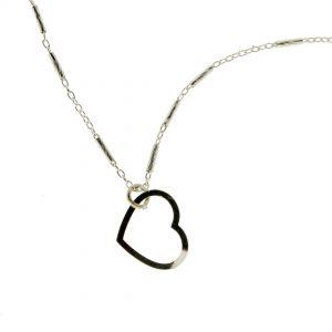 Collartz Essential Love Cadena de Plata Minimal