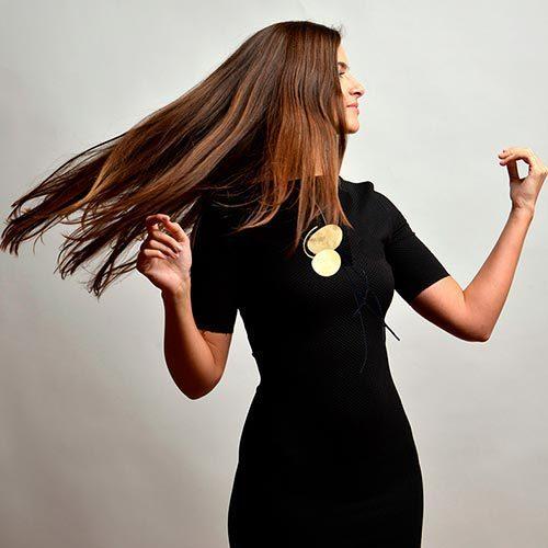 Collartz Fashion Necklaces Brass Maria