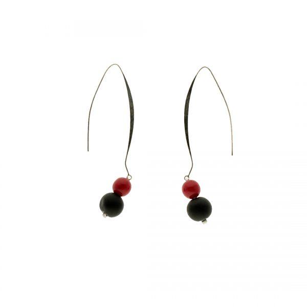 Lava Rossa Bubbles Earrings 2