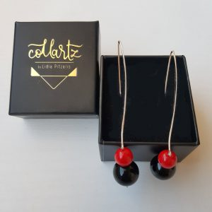 Lava Rossa Gloss Earrings 1