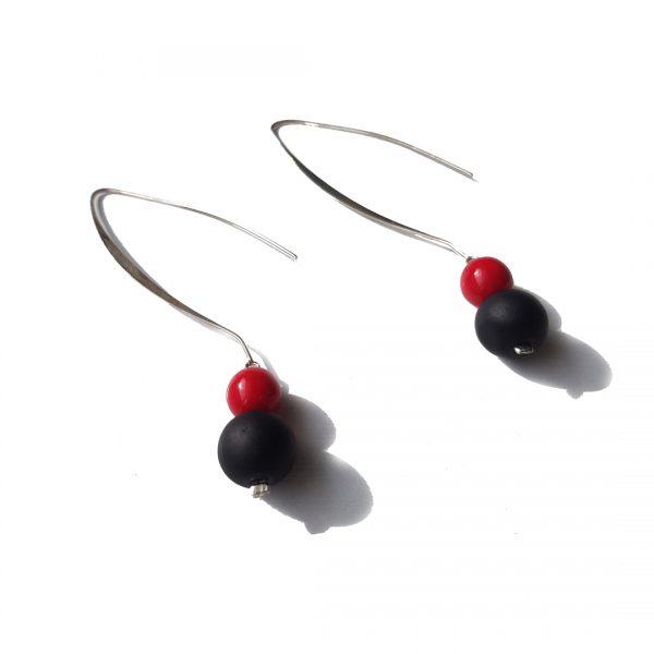 Lava Rossa Bubbles Earrings 1